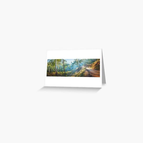 Morning Light, Howqua Hills, Mansfield, Victoria, Australia Greeting Card