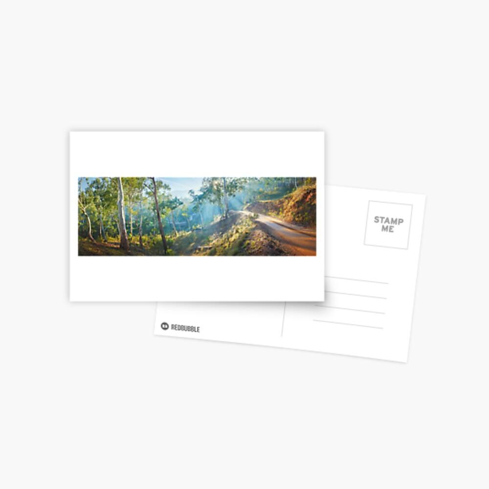 Morning Light, Howqua Hills, Mansfield, Victoria, Australia Postcard