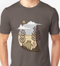 Cute Simple Bear in the Forest  T-Shirt