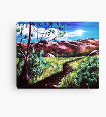 Hot Summer Day Canvas Print