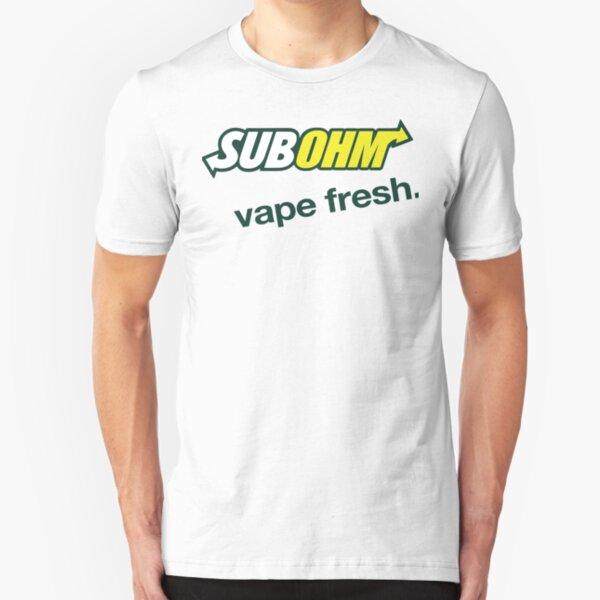 Sub Ohm Vape Fresh Slim Fit T-Shirt