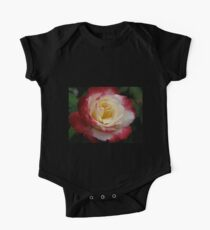 Rose with Raindrops Original Photograph  One Piece - Short Sleeve
