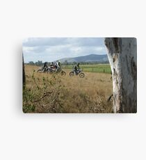 MOTOCROSS ENDURO Canvas Print