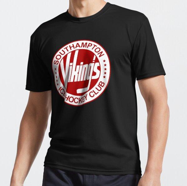 Southampton Vikings Ice Hockey Retro Logo Essential Active T-Shirt