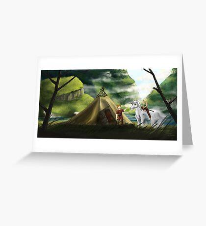Volund and Hervor Greeting Card