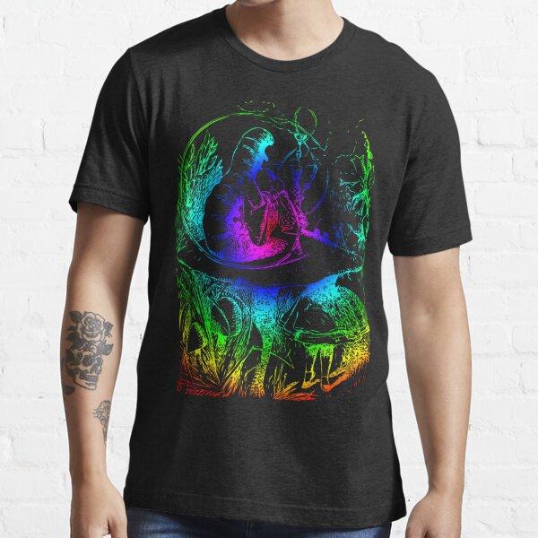 Psychadelic Mushroom Alice in Wonderland Essential T-Shirt