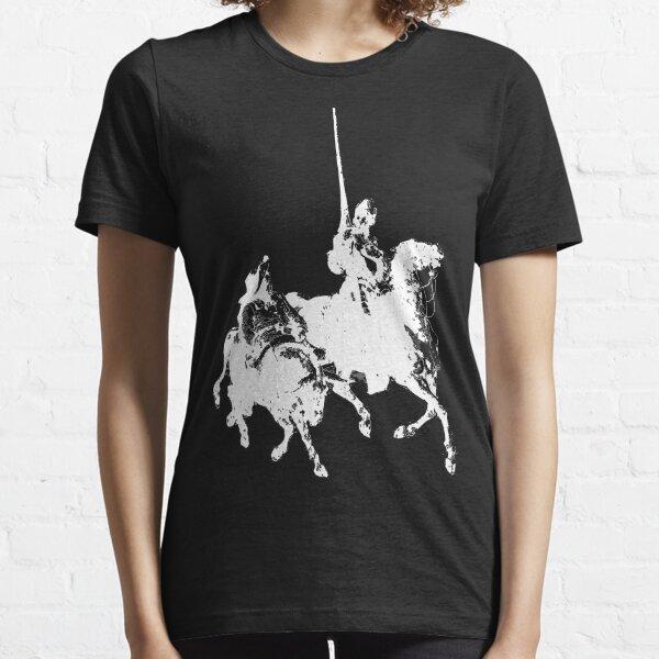 Don Quijote y Sancho Panza Camiseta esencial