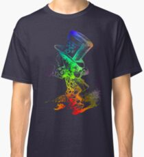 Psychedelic Mad Hatter Trippy Alice Classic T-Shirt