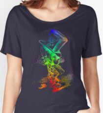 Psychedelic Mad Hatter Trippy Alice Women's Relaxed Fit T-Shirt