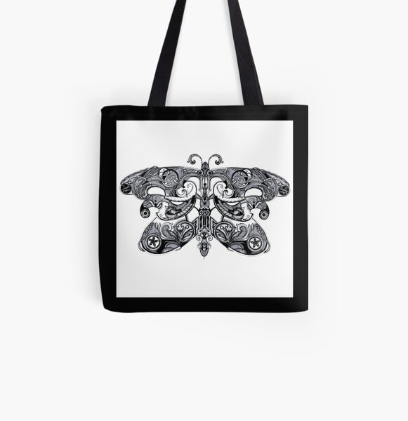Papillon for life All Over Print Tote Bag