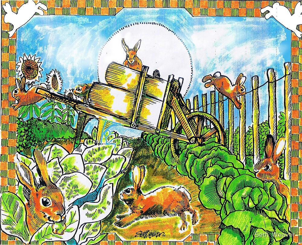 Rambunctious Rabbits by Seth  Weaver