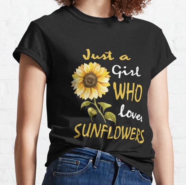 vintage Sunflower bleached tee gift for her gift for him flower shirt distressed