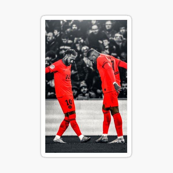 Neymar et Mbappe Sticker