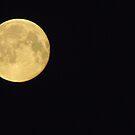 Луна над Москвой 04:23:29 утро by M-EK