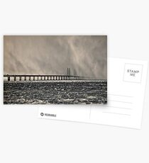 Snow Storm Out at Sea. Postcards