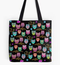 funky owls  Tote Bag