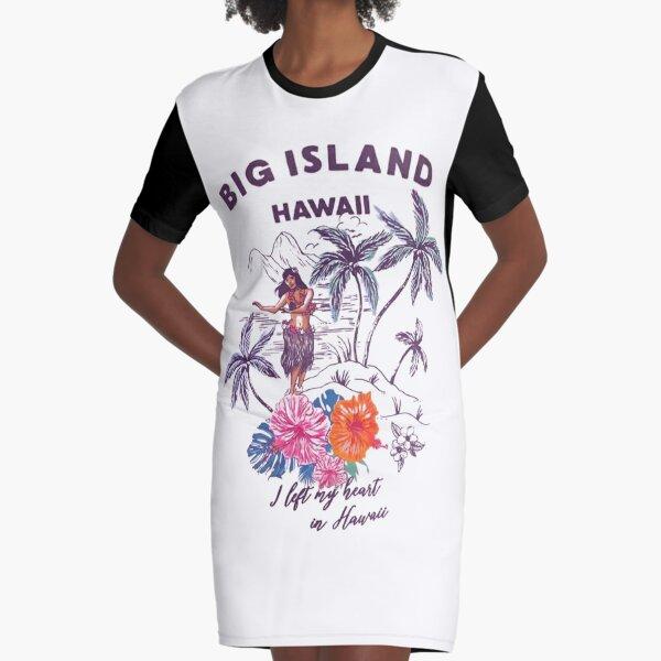 GROSSE INSEL HAWAI T-Shirt Kleid