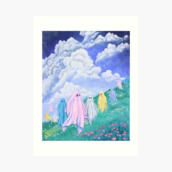 Ghosts on the Hill Art Print
