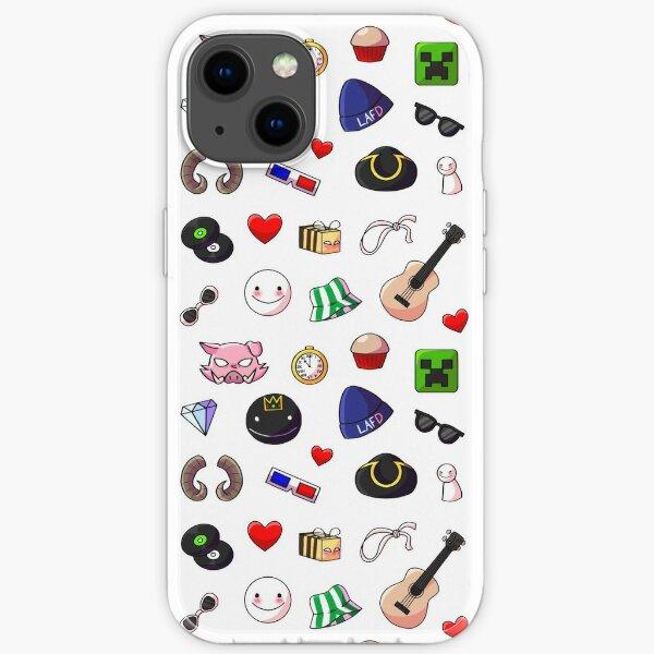Dream Smp Mitglieder Symbole und Symbole iPhone Flexible Hülle