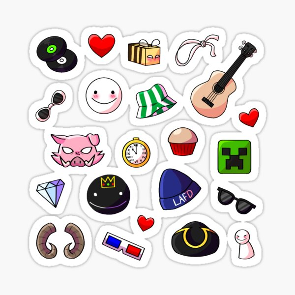 Dream Smp Members Symbols And Icons Sticker