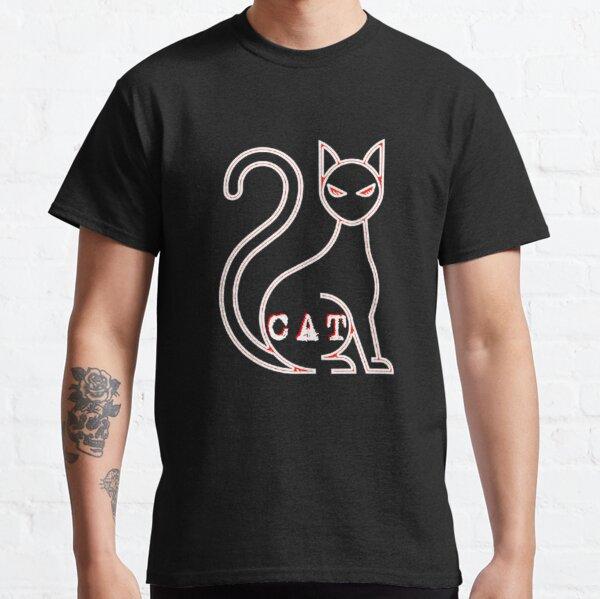 WEISSE KATZE - KATZE WEISSE - CHAT BLANC - BLANC CHAT - WEISSE ROTE KATZE - ROTE KATZE Classic T-Shirt
