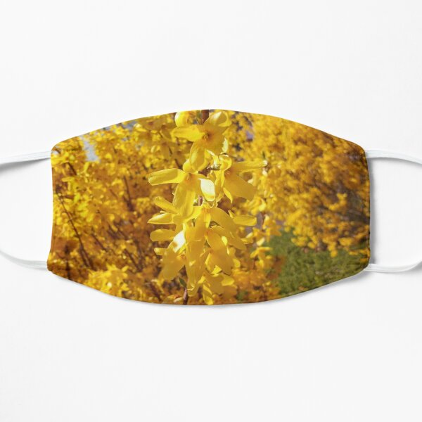 Yellow Flower Trees Mask
