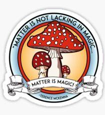 Terence Mckenna Wisdom Sticker