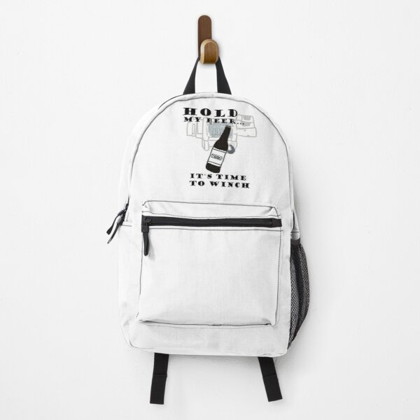 Grab my beer, it's time to winch Backpack