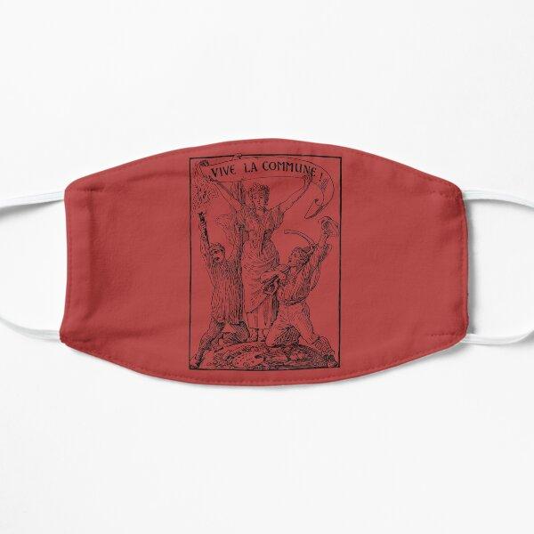Vive La Commune Walter Crane - Historical, Paris Commune, Socialist, Leftist  Flat Mask