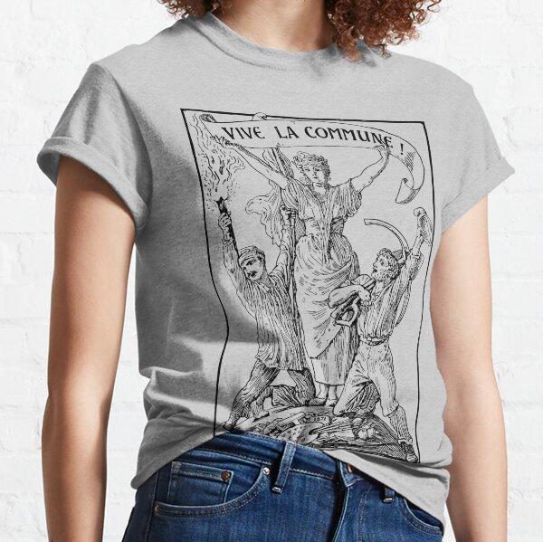 Vive La Commune Walter Crane - Historical, Paris Commune, Socialist, Leftist  Classic T-Shirt