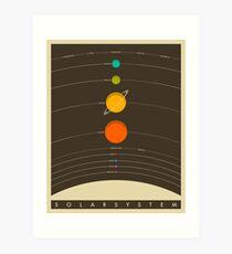 THE SOLAR SYSTEM Art Print