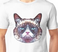 abstract cat Unisex T-Shirt