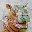 abstract hippo by Ancello