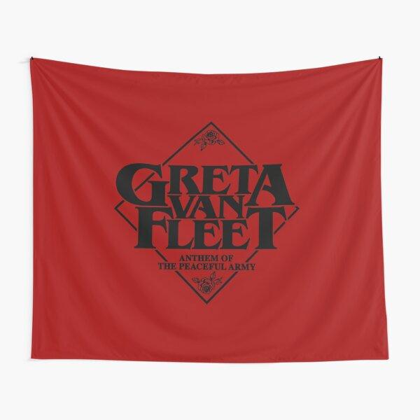 Greta Van Fleet - Hymne der friedlichen Armee Wandbehang