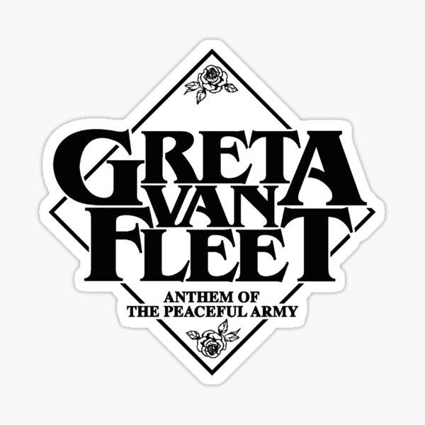 Greta Van Fleet - Hymne der friedlichen Armee Sticker