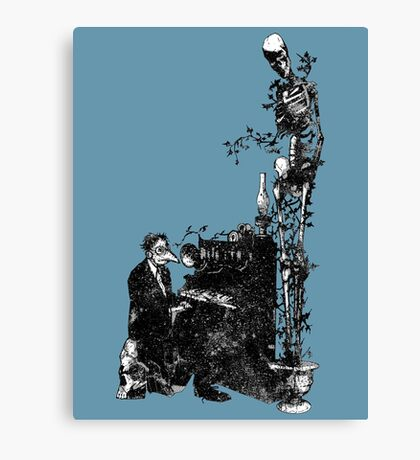 Plague Pianist Canvas Print
