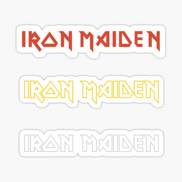 Iron Maiden Sticker