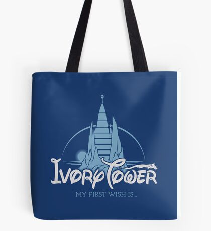Ivory Tower Tote Bag