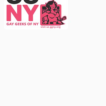 Oma - Pink GGNY Hero Sticker by GayGeeksNY