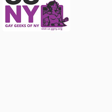 Oma - Purple GGNY Hero Sticker by GayGeeksNY