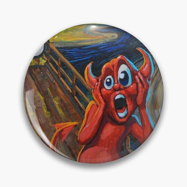 Beastie Scream Pin