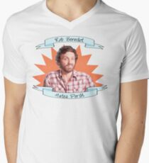 Rob Benedict hates Perth Men's V-Neck T-Shirt