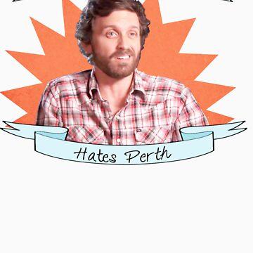 Rob Benedict hates Perth by GameFailure