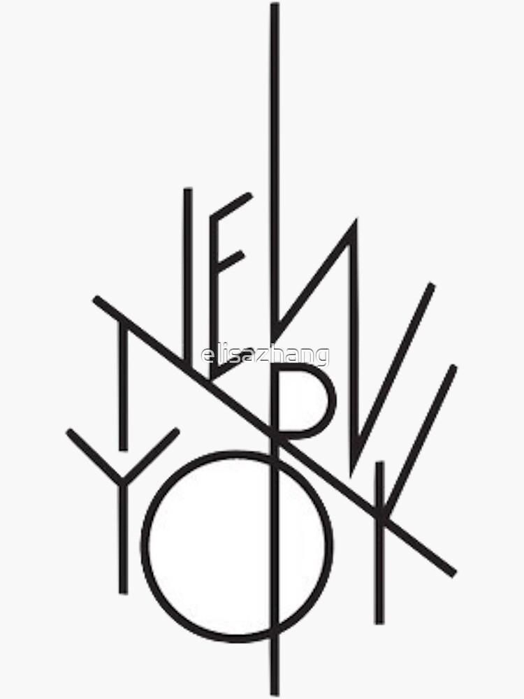 Nueva York de elisazhang