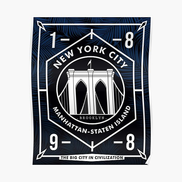 NYC Badge Poster