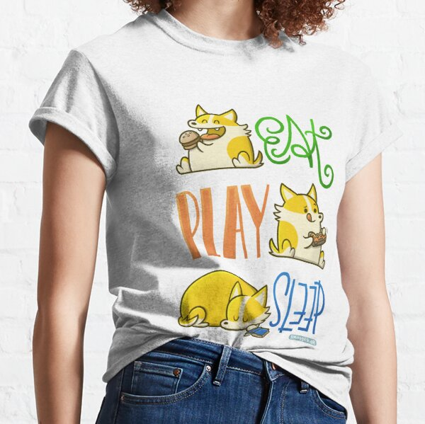 A Corgi's Day Classic T-Shirt