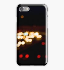 Rush Hour Bokeh iPhone Case/Skin