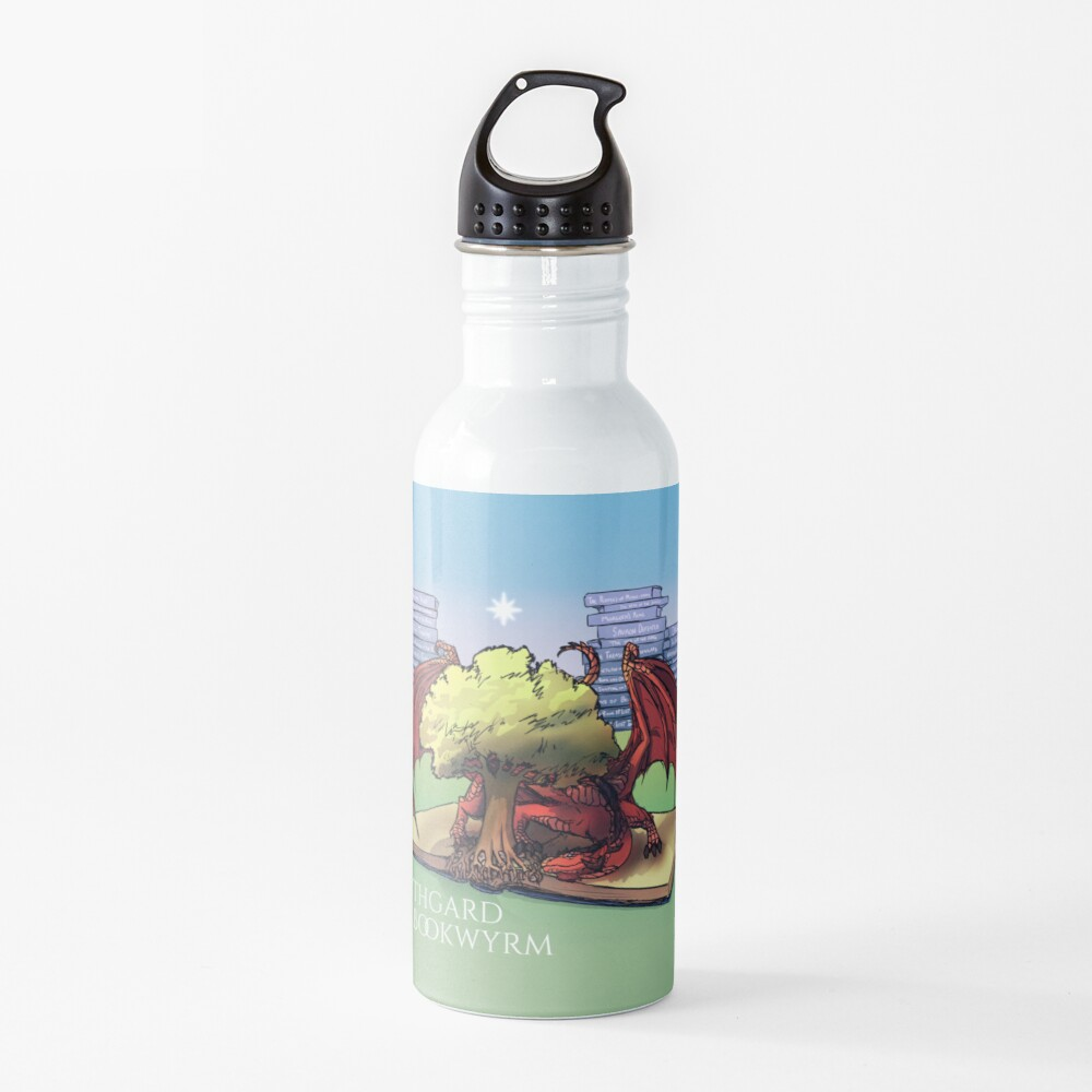 Mythgard Bookwyrm Water Bottle