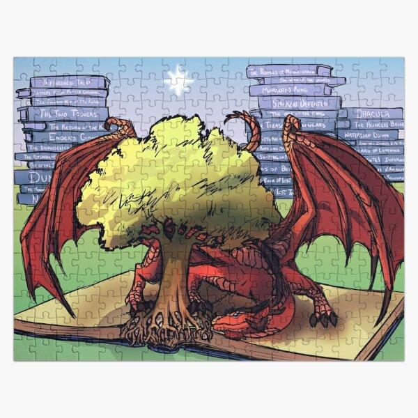 Mythgard Bookwyrm Jigsaw Puzzle