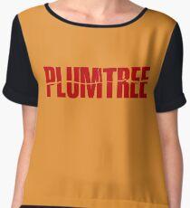 Plumtree Chiffon Top